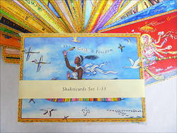 Set of 33 Shakticards, 1-33