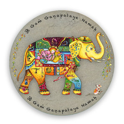 Ganesha, small sticker