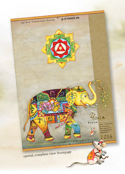 Kalender 2016 - Power Animals of Yoga