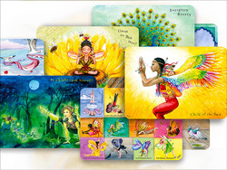 On the Wings of Yoga, Set of 9